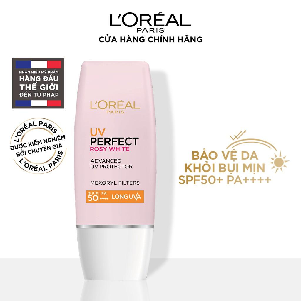 Kem chống nắng bảo vệ da L'Oreal Paris UV Perfect SPF50+ PA++++ 30ml