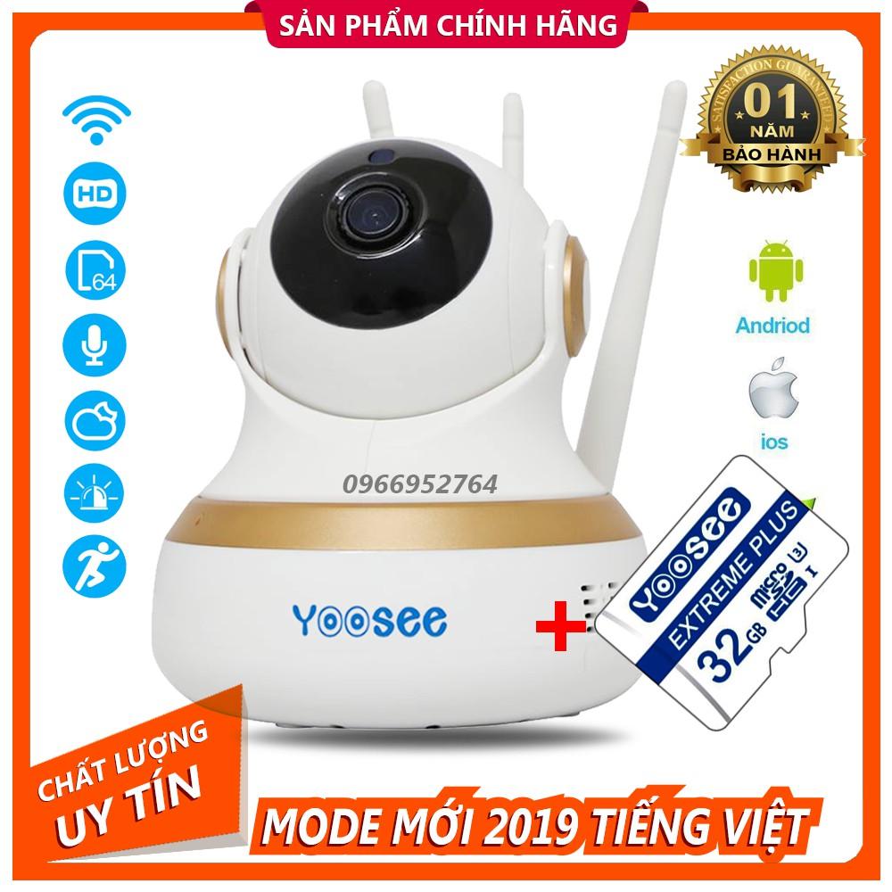 [ Combo ] Camera IP YooSee Thông Minh Vs100 Kèm Thẻ 32Gb