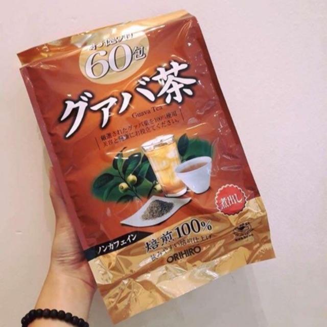 Trà lá ổi Orihiro 60 gói (Trà giảm cân Orihiro Guava Tea) - 14202805 , 2212332184 , 322_2212332184 , 158000 , Tra-la-oi-Orihiro-60-goi-Tra-giam-can-Orihiro-Guava-Tea-322_2212332184 , shopee.vn , Trà lá ổi Orihiro 60 gói (Trà giảm cân Orihiro Guava Tea)