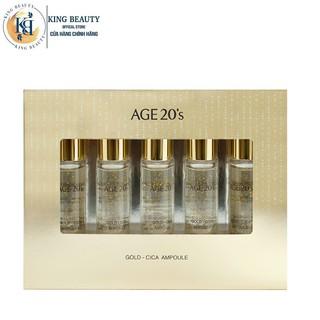 Set Tinh Chất Chống Lão Hóa, Dưỡng Trắng, Giảm Mụn Age20 s Gold - Cica Ampoule (Set 5ea) 10ml x 5c thumbnail