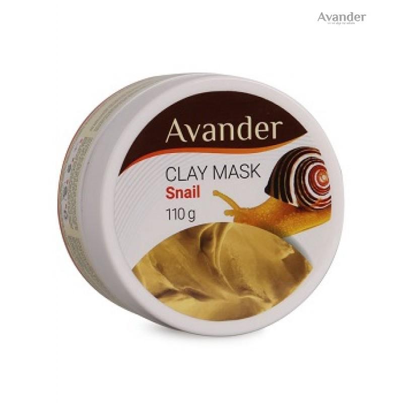 Kết quả hình ảnh cho Mặt nạ đất sét Avander snail