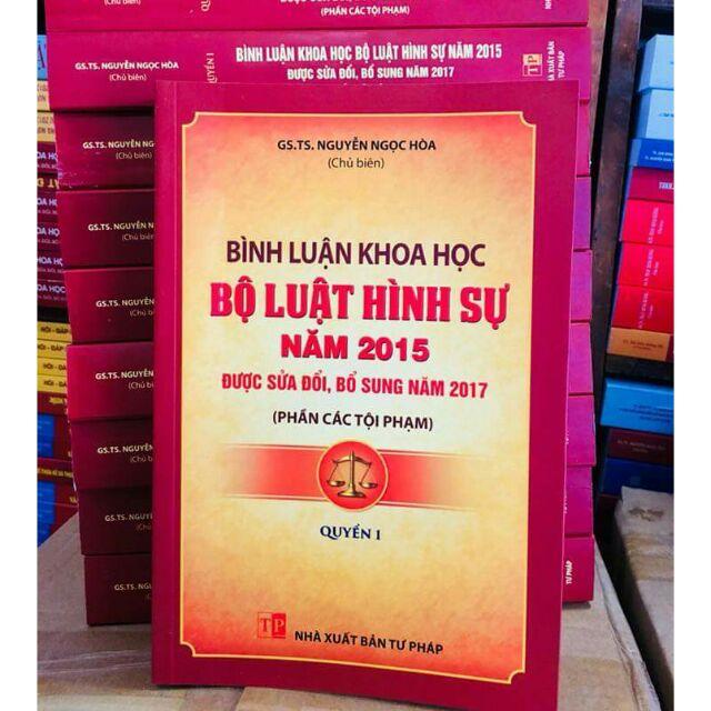Sách : Bình luận khoa học Bộ Luật Hình Sự Năm 2015 được sửa đổi bổ xung 2017 (phần các tội phạm ) Qu - 3311674 , 1333108024 , 322_1333108024 , 250000 , Sach-Binh-luan-khoa-hoc-Bo-Luat-Hinh-Su-Nam-2015-duoc-sua-doi-bo-xung-2017-phan-cac-toi-pham-Qu-322_1333108024 , shopee.vn , Sách : Bình luận khoa học Bộ Luật Hình Sự Năm 2015 được sửa đổi bổ xung 2017