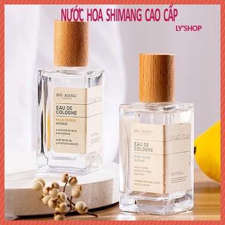 Nước Hoa Shimang Nắp Gỗ Vuông Bản Cao Cấp Eau De Colonge EDP 50ml, nước hoa cho cả nam và nữ shimang nội địa Trung thumbnail