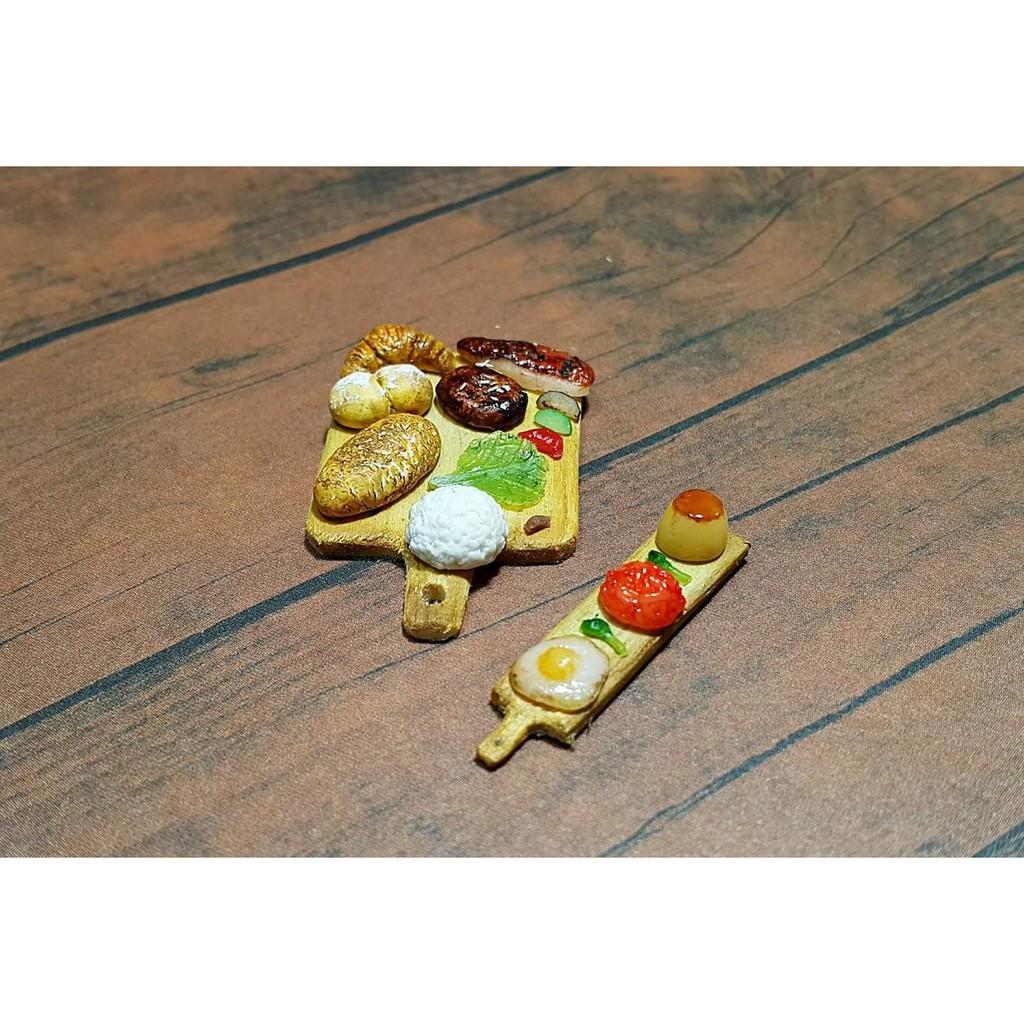 Khuôn nặn đồ ăn bằng đất sét dùng cho nhà búp bê dollhouse
