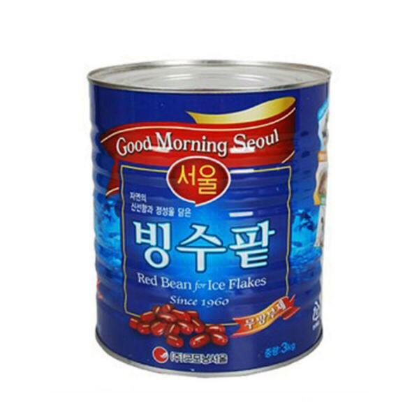 Đậu Đỏ Ngâm Đường Hàn Quốc Làm Trà Sữa Đậu Đỏ 1kg