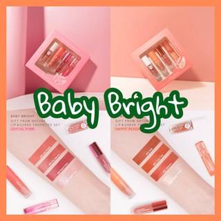 Sét 4 cây son Baby Bright Thái Lan Lip & Cheek Favorites mới Fullsize - Chính Hãng thumbnail