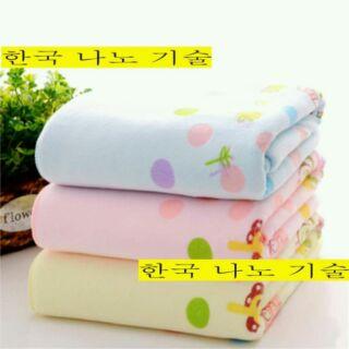 Khăn tắm bé Hàn Quốc kt 70x140cm