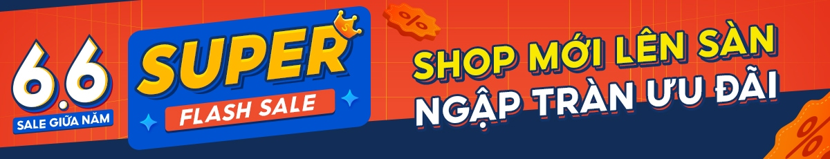 Flash Sale 6.6 - siêu giảm giá tại shopee