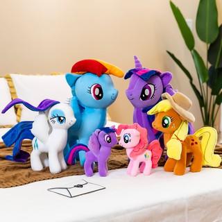 Gấu bông unicorn gối ôm Ngựa kỳ lân ,thú nhồi bông ngựa pony vải nhung co dãn 4 chiều siêu mềm mịn thumbnail