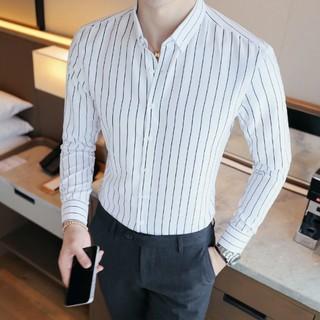[SƠ MI HOT – HÀNG ĐẸP] Áo sơ mi – Áo sơ mi nam – Chất liệu lụa mềm mịn, dáng slim Hàn Quốc trẻ trung, tôn dáng người mặc