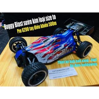 Xe điều khiển Buggy Blast tốc độ cao sườn kim loại Pin 6200 tay điều khiển nâng cấp 500m
