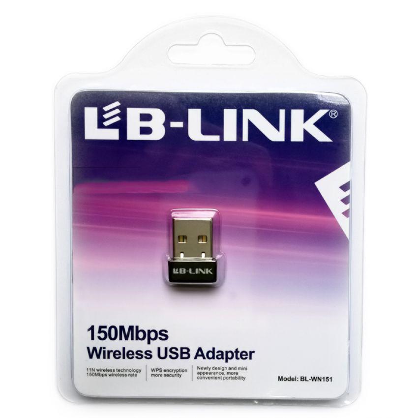 USB THU WIFI LB-LINK BL-WN151 NANO - Chính