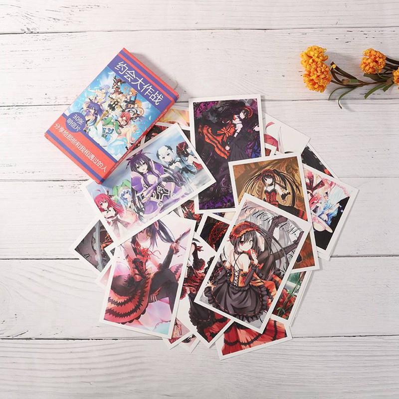 Wu929_5511185 Bộ 30 thẻ ảnh anime Demon Slayer