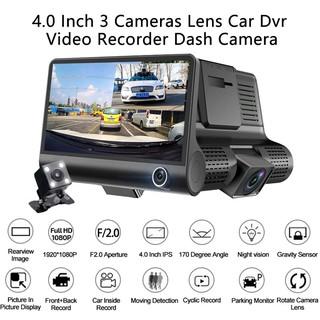 Yêu ThíchCamera hành trình ô tô 3 mắt camera, màn hình 4 inh full HD, ghi hình đa chiều, có chế độ ghi đè