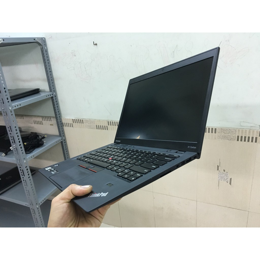 [Mã ELLAPTOP giảm 5% đơn 6TR] laptop cũ thinkpad X1 carbon 2013 i5 3317U, 4GB, SSD 128GB, màn hình 14.1 inch