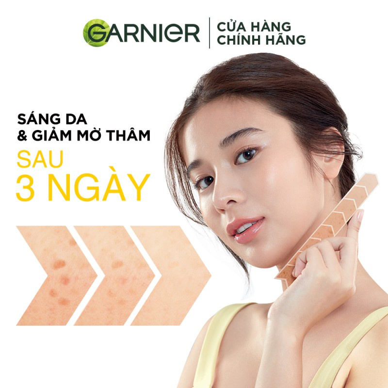 Tinh chất tăng cường sáng da mờ thâm Garnier 30ml   Shopee Việt Nam