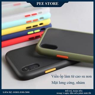 Ốp Iphone nhám, ốp rock chống sốc, chống vân tay - Pee Store thumbnail