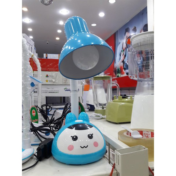 Đèn Học (Đèn Bàn) Chống Cận LED Rạng Đông 5W Màu Xanh/Hồng (RL-27)