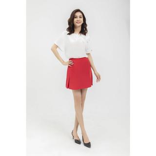 Chân váy đỏ ly trước Elise thumbnail
