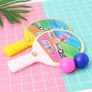 Đồ chơi bóng bàn mini kèm 2 bóng nhiều màu