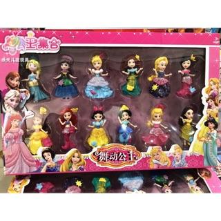 Set 12 công chúa disney