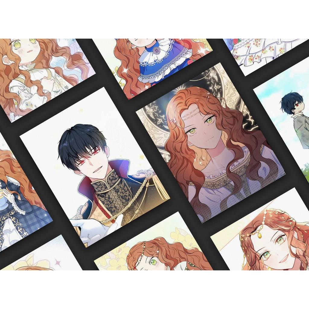 Tấm Poster cao cấp in hình KIẾP NÀY TÔI NHẤT ĐỊNH TRỞ THÀNH GIA CHỦ giấy  260gsm anime chibi manhwa - Bộ sưu tập hoạt hình truyện tranh