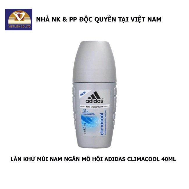 Lăn Khử Mùi Nam Ngăn Mồ Hôi Adidas Climacool 40ml