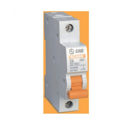 Aptomat Sino MCB 1P-50A-6KA-SC68N/C1050