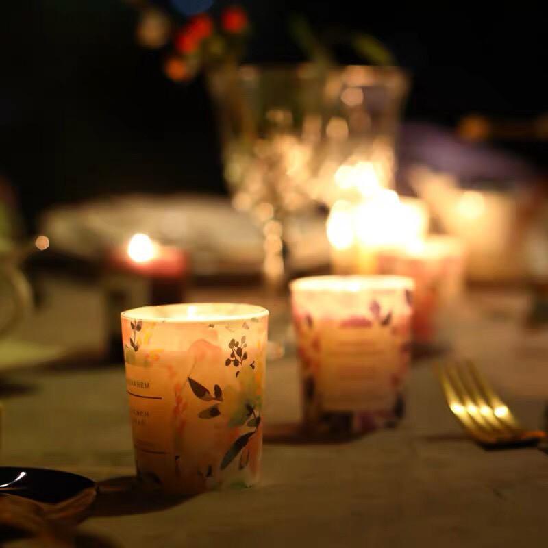 Nến thơm MENAHEM thư giãn không khói Luxury Fragrant Candle MENA01