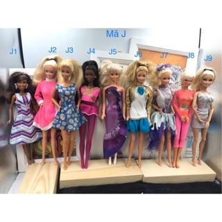 Búp bê barbie chính hãng thanh lí. Búp bê thanh lí giá rẻ. Mã lô J