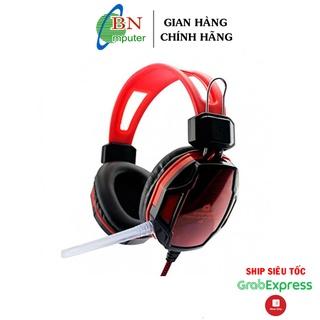 Tai nghe chụp tai chơi game Qinlian A6 (Đen đỏ- Xanh). thumbnail