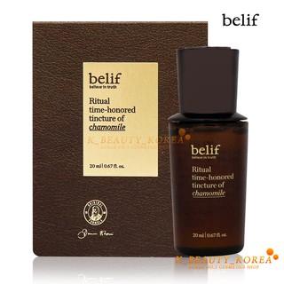 [Hàng mới về] Tinh chất hoa cúc la mã Belif Ritual Time-honored Tincture of Chamomile 20ml thumbnail