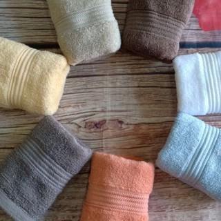 Khăn mặt 100% cotton thấm hút tốt 30x50cm, khăn mặt xuất dư giá siêu rẻ phù hợp với mọ gia đình