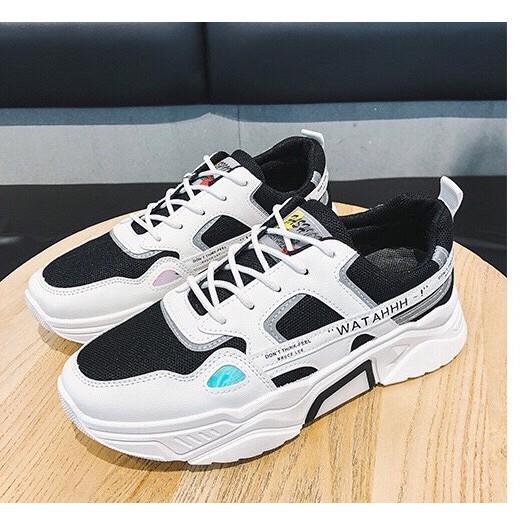 Giày nam đế độn tăng 5 cm chiều cao Phản Quang TP Siêu Phẩm 2020 mới