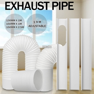 2.5M/1M Flexible Air Conditioner Exhaust Pipe Vent Hose Duct Outlet 130/150mm