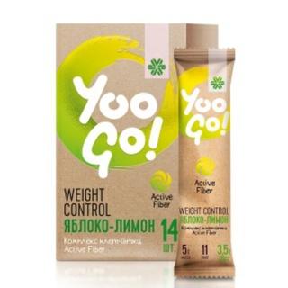 Thực phẩm dành cho chế độ ăn đặc biệt YOO GO WEIGHT CONTROL DRINK MIX APPLE & LEMON thumbnail