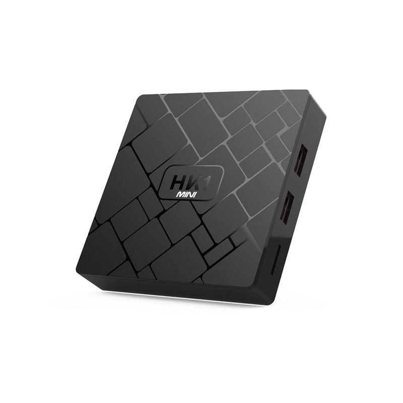 New, Hk1 Mini Smart Tv Box Android 9.0 2Gb+16Gb Rk3229 Quad-Core Wifi 2.4G 4K 3D Hk1 Mini Google Netflix Set-Top Box(Eu