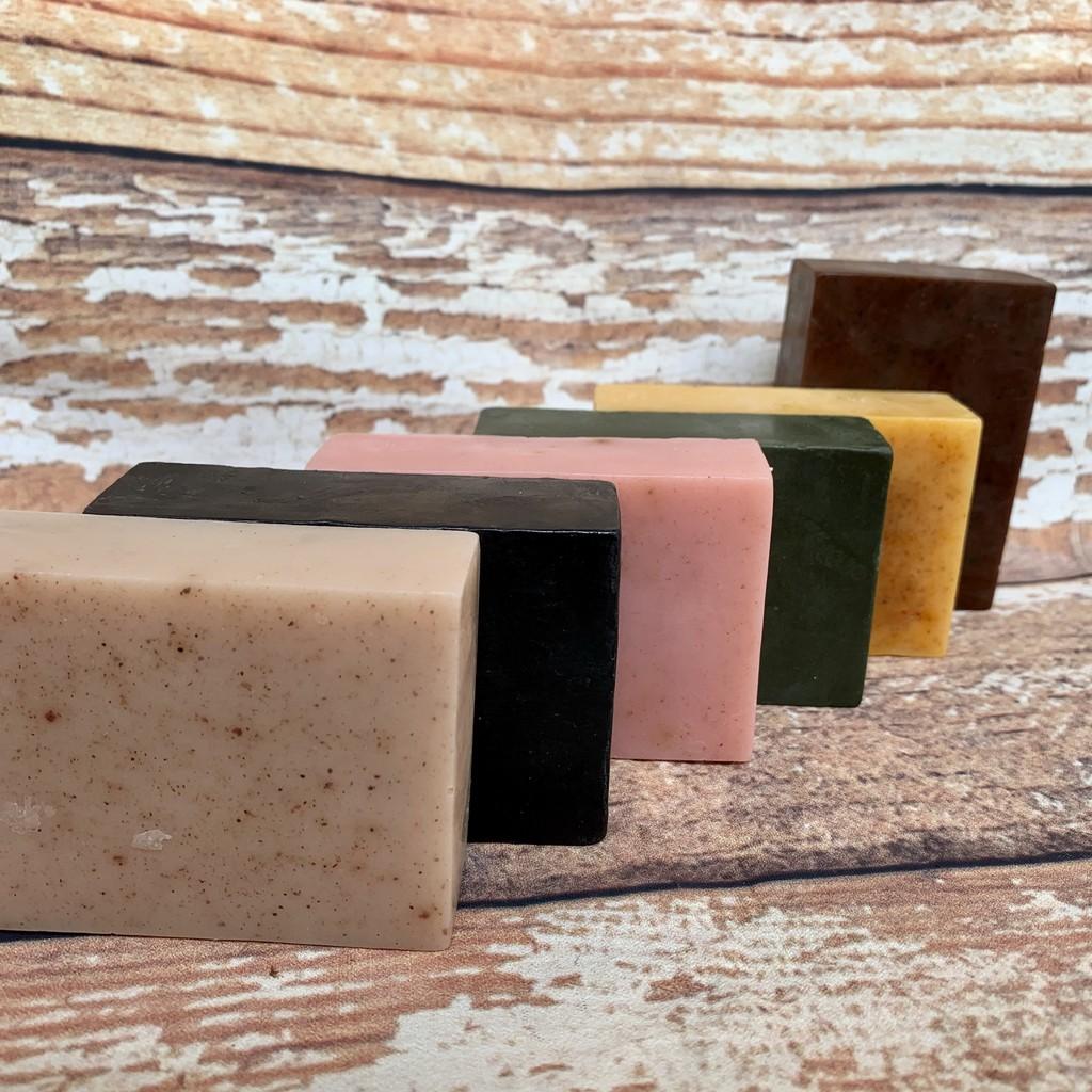 Combo 6 bánh xà bông bồ hòn dược liệu handmade tự nhiên 100% hạn sử dụng 18 tháng có giấy kiểm nghiệm