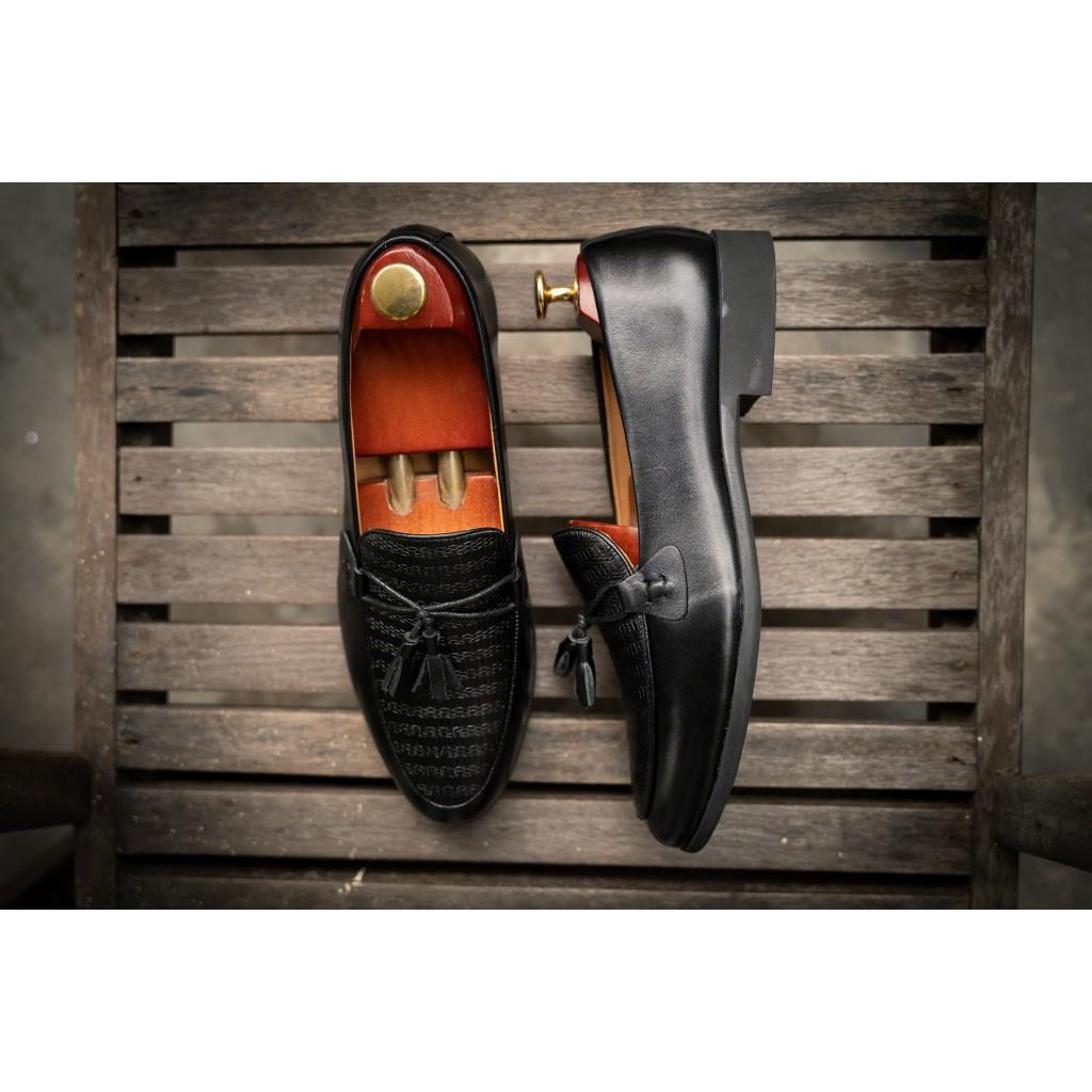 Giày... Lười Nam Cao Cấp Da Thật VNXK Da Bò Kèm Thẻ Bảo Hành 12 Tháng Mã XL 283