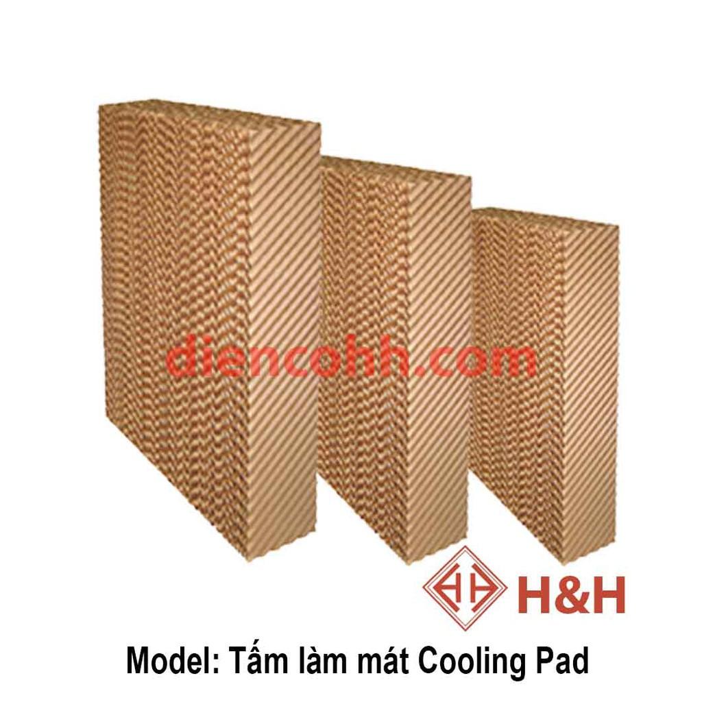 Tấm giấy làm mát Cooling Pad Quạt điều hòa 600x400x70