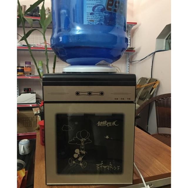 Cây nước nóng lạnh mini mặt kính cao cấp