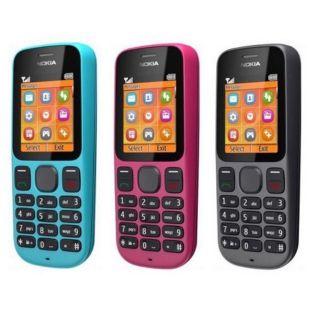 điện thoại nokia 101 2 sim - chính hãng cũ 99% ( tặng kèm pin và sạc )