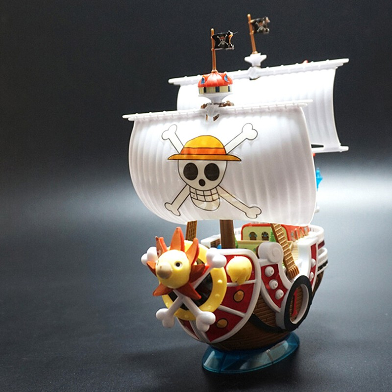 Specialhour One Piece THOUSAND SUNNY Pirate Ship model toy assembled collectible