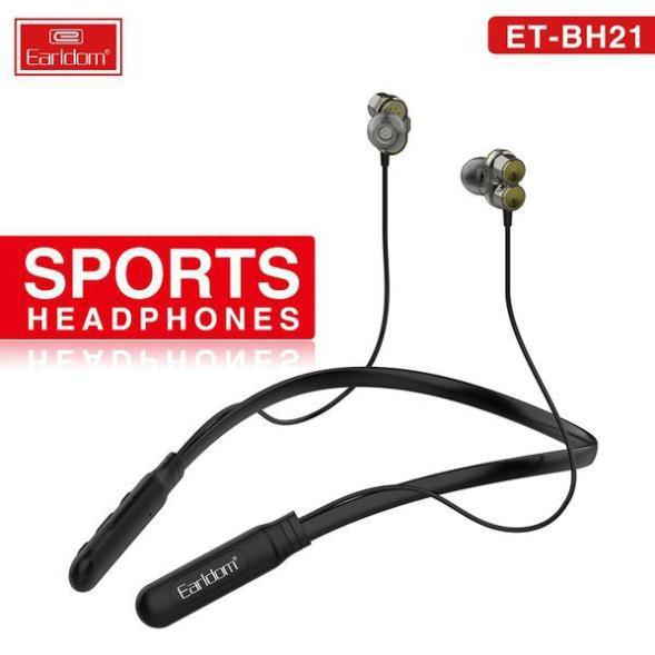 Tai nghe Bluetooth không dây thể thao siêu Bass Earldom BH21