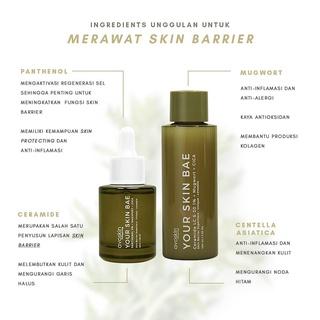 (Hàng Mới Về) Bộ Toner Avoskin Your Skin Bae Ceramide Mugwort Cica + Serum Panthenol Mugwort Cica