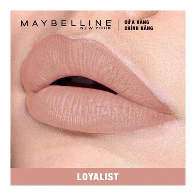 Son kem lì Maybeline Superstay Matte Ink Liquid Líptick. 16 H.