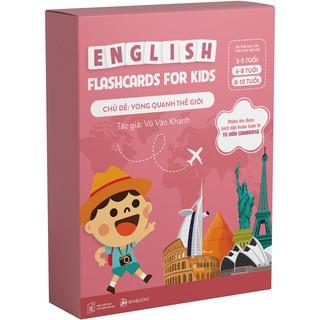 Flashcards - Bộ thẻ học Tiếng Anh chủ đề Vòng quanh thế giới - Dành cho trẻ 6-10 tuổi thumbnail