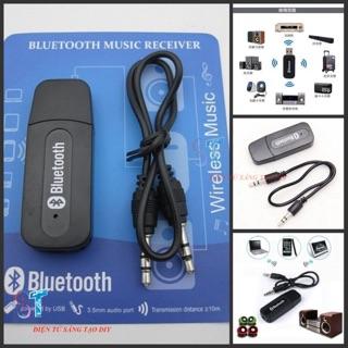 Đầu thu Bluetooth BT 163 - Biến loa thường thành loa Bluetooth - BT163 chuyển đổi thành âm thanh truyền không dây