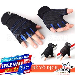 Găng tay tập gym nam nữ SP11 FREESHIP Bao tay tập gym có quấn cổ tay - giảm giá rẻ vô địch