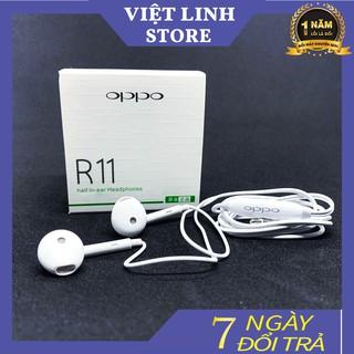 Tai Nghe Oppo R11 zin plus siêu bass, kiểu dáng mini, gọn, nhẹ, cực bền - Việt Linh Store